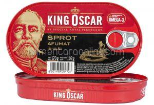 * Sprot Afumat in Ulei KING OSCAR 170g