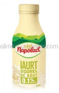 Iaurt 0.1% Usurel de Baut NAPOLACT 330g