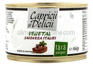 Pate Vegetal Savoarea Italiei + Savoarea Mediteranei + Savoarea Mexicului CAPRICII SI DELICII 2+1x160g
