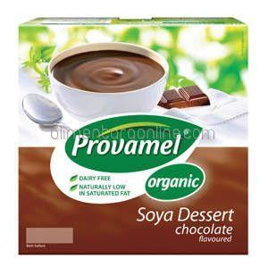 Desert Bio Ecologic din Soia PROVAMEL Ciocolata 4x125g