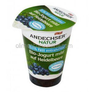 Iaurt Bio 0.1% ANDECHSER Afine 180g