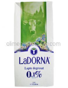 * Lapte 0.1% La DORNA 1L