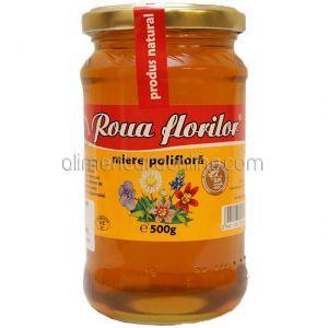 * Miere Poliflora ROUA FLORILOR 500g