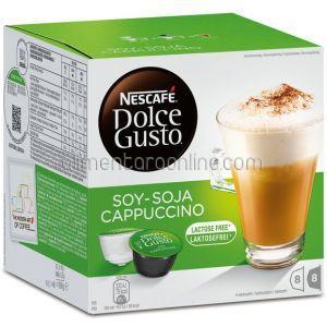 Capsule NESCAFE Dolce Soy Cappuccino 8+8buc