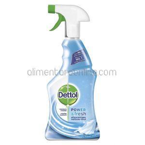 DETTOL Spray Dezinfectant pentru Suprafete Diverse - Anti Calcar (Albastru) 500ml