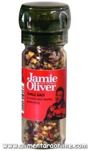 Rasnita Sare Condiment cu Chilli Iute si Afumat JAMIE OLIVER 50g