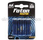 * Baterii AA LR6 FOTON Master 4buc