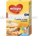 7 Cereale cu Lapte si Biscuiti MILUPA 6+ 250g