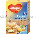 7 Cereale cu Lapte si Mere MILUPA Vise Placute 8+ 250g