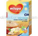 Cereale Crocante cu Lapte si 3 Fructe MILUPA Buna Dimineata 8+ 250g