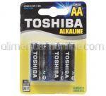 Baterii AA LR6 TOSHIBA Alkaline 4buc