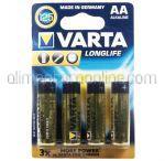 Baterii AA LR6 VARTA 4buc
