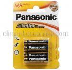 Baterii AAA LR3 PANASONIC Alkaline Pro 4buc