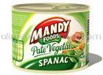 Pate Vegetal cu Spanac MANDY 3x200g