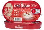 File de Macrou in Sos Tomat KING OSCAR 170g / 85g net