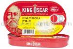 File de Macrou in Ulei KING OSCAR 170g
