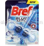 Dezinfectant Odorizant Solid Pentru Vasul de Toaleta BREF Blue Aktiv Chlorine 50g