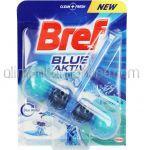 Dezinfectant Odorizant Solid Pentru Vasul de Toaleta BREF Blue Aktiv Eucalipt 50g