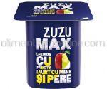 Iaurt cu Fructe 4% ZUZU Max Mere si Pere 125g