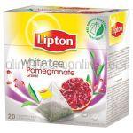 LIPTON Pyramid Ceai Alb White Tea + Rodie 20x1.5g