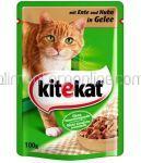 Mancare Umeda pt. Pisici KITEKAT Pui 100g