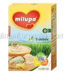 3 Cereale Bio Ecologice MILUPA 6+ 250g