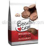 Biscuiti cu Cacao Glazurati ALKA Biscuitii Casei 200g