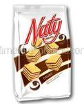 Napolitane cu Crema de Cacao NATY 180g
