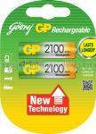 Acumulatori GP AA - 2100mAh R6 2buc
