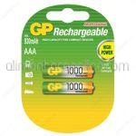 Acumulatori GP AAA - 1000mAh R3 2buc