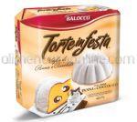 BALOCCO Cozonac Torte in Festa Panna & Ciocolata 400g [Craciun]
