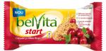 Biscuiti BELVITA Start 4 Cereale cu Afine Rosii 4x50g