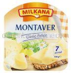 Cascaval Clasic Feliat MILKANA Montaver 150g (7 Felii)