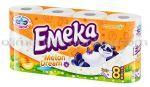 Hartie Igienica EMEKA Melon Dream 3str. 8role