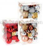 Set Globuri Plastic 60/50/30mm Diverse Culori 31buc
