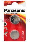 Baterii CR 2016 PANASONIC 2Buc