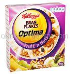 Cereale KELLOGG'S Bran Flakes Optima cu Fructe 375g