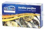 * Sardine in Ulei Vegetal YACHTIS 125g / 90g net