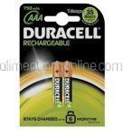 Acumulatori DURACELL AAAK2 750 mAh 2buc