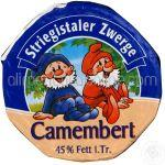 Branza Camembert STRIEGISTALER 250g