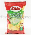 CHIO Chips Smantana si Ceapa 4x65g