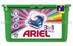 Detergent Automat Gel pentru Rufe ARIEL COLOR 3in1 Gel Capsule 42x28.8g