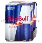 Bautura Energizanta RED BULL 4x250ml