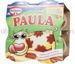 Budinca de Vanilie si Ciocolata PAULA 4x125g