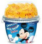 Iaurt Alb Indulcit cu Cereale DANONE Delicios Mic Dejun 140g