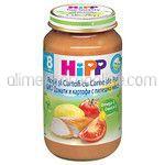 Meniu Bio Ecologic cu Rosii si Cartofi cu Carne de Pui +8 Luni HIPP 220g