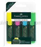 Textmarker 1548 FABER CASTELL 4buc