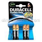 * Baterii AAA LR3 DURACELL Turbo Max Powercheck 4buc