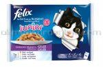 Mancare Umeda pentru Pisici FELIX Junior 4x100g
