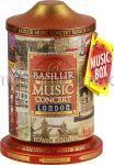 BASILUR Ceai Negru Ceylon - Cutie Muzicala [London] 100g